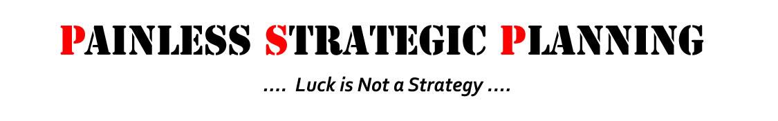 Painless Strategic Planning